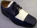 Boys Dress SHOES - 2Tone Beige & Blue