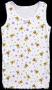 ''Little Bears'' Girls Cotton TANK TOPs -  Sizes: 4 Thru 6 ( #4003)