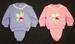 Girls 2Pc Applique Jogging Sets  -  Sizes: NEW Borns