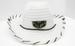 WHITE PLLL MLLL WOVEN COWBOY HAT W/SNAP