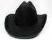 BLACK STETSON STYLE COWBOY HAT