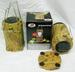 CAMO SOLAR RECHARGEABLE LANTERN BRIGHT-SMD BULBS! FLASHLIGHTS