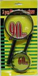 2-PC. MAGNIFYING GLASS SET. 90MM & 60MM