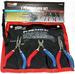 NEW GRIP 3PC. MINI PLIERS SET WITH POUCH! TOOLS