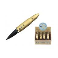 Gold Mini AUTOMATIC Bullet Knives