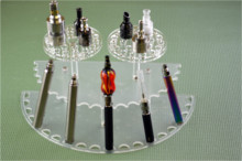 Large Display Rack for BATTERIES and Drip Tips