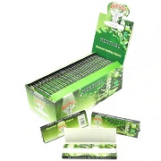 Hornet Menthol Flavored ROLLING PAPERS 1-1/4'' 50 Booklets