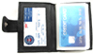 Soft LEATHER Credit Business Card Wallet ID Holder w/30pc Insert