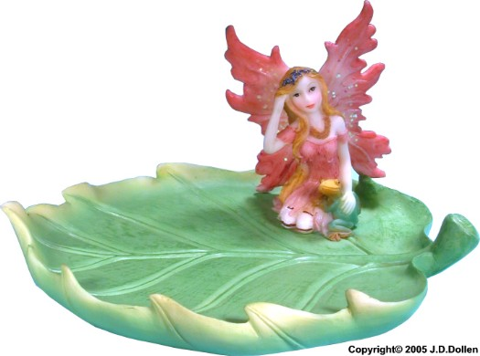 Woodland Fairy Leaf ; Ashtray - CANDY Dish