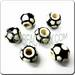 Medium Jewelry Ceramic Sport Bead - SOCCER / European Football