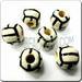 Medium JEWELRY Ceramic Sport Bead - Volleyball