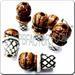 Peruvian Ceramic Special Sport Bead - Baseball Bat