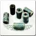 Raku glazed JEWELRY bead - Cylinder