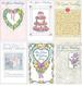6 PACKS WEDDING BRIDAL SHOWER CARDS ASSORTMENT $10.80