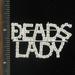 BEADS LADY PIN