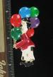 CLOWN HOLDING BALLOONS PIN