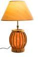 Himalayan Salt Crystal Bamboo Shade LAMP