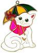 Cat with UMBRELLA Suncatcher