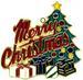 Merry CHRISTMAS Suncatcher