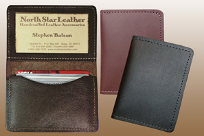 LEATHER ID Case Assorted Seconds