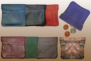 Leather Snap Change PURSE Seconds