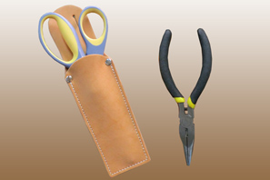 LEATHER Sheath Great for a Knife or Tool