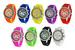 Wholesale Assortment of Geneva Crystal Silicone WATCHes