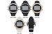 Wholesale Geneva Platinum Crystal-FRAMEd Digital Silicone Watch
