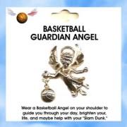 Sports Guardian Angel BASKETBALL Pin