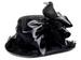 12'' Witch's HAT w/Crow  Black (BULK)