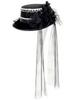 12'' Witch's HAT w/Mouse  Black (BULK)