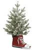 25'' Snowed Pine Tree SNEAKER  Green Snow  (BULK)