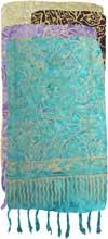 Leaf Outline Batik Sarong