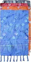 FLOWERS & Stems Batik Sarong