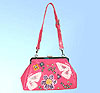 Flower & Butterfly Hobo CLUTCH