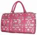 Crown Print Leatherette 17'' Overnight DUFFLE BAG