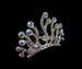 Rhinestone Crown TIARA Hair Comb